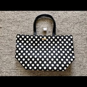 Like new Kate Spade tote with graphic print